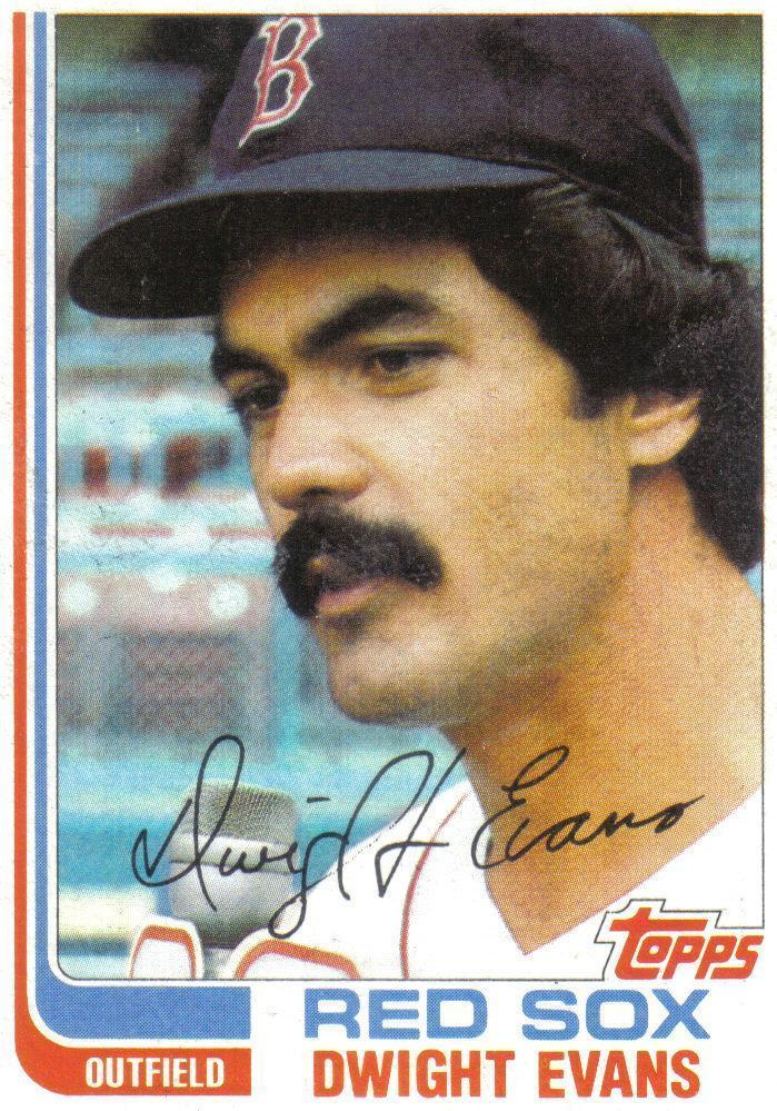 1982 Topps Dwight Evans