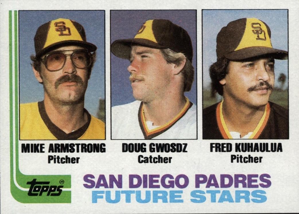 1982 Topps Padres Future Stars