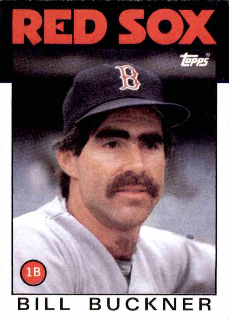 1986 Topps Bill Buckner