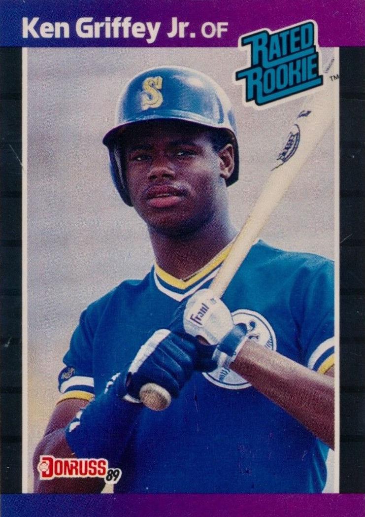 1989 Donruss Ken Griffey Jr. Rated Rookie