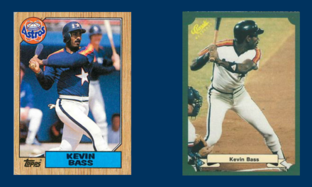 That Time Kevin Bass Became Mickey Mantle for a Day