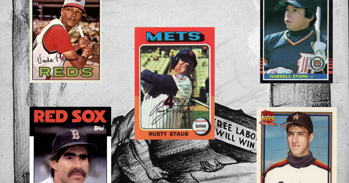 Celebrate Labor Day with the Baseball Cards of These Ultimate Diamond 'Workers'