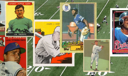 The Incredible Crossovers — NFL Players Who Made the Majors (and Their Baseball Cards!)