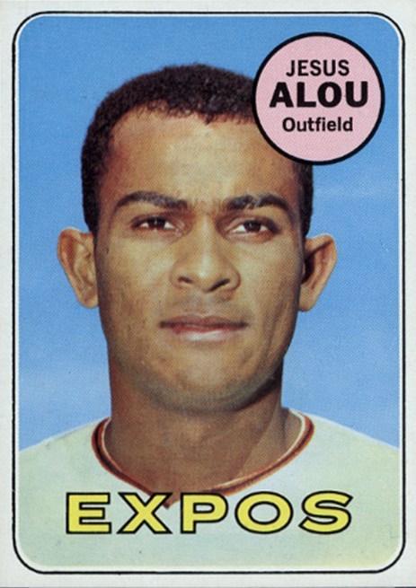 1969 Topps Jesus Alou - Montreal Expos