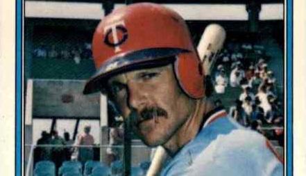 Chuck Baker and His 1982 Fleer Stampede
