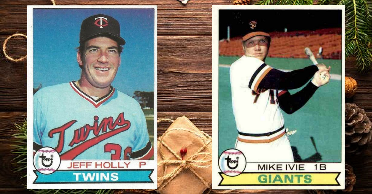 Christmas Cards: How Holly & Ivie (Jeff & Mike) Spruced Up 1979 Topps Baseball Cards