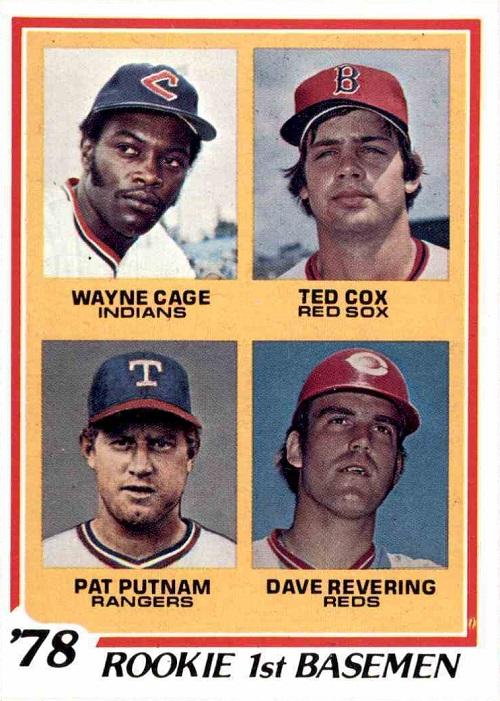 1978 Topps Wayne Cage