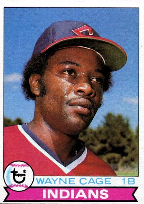 1979 Topps Wayne Cage