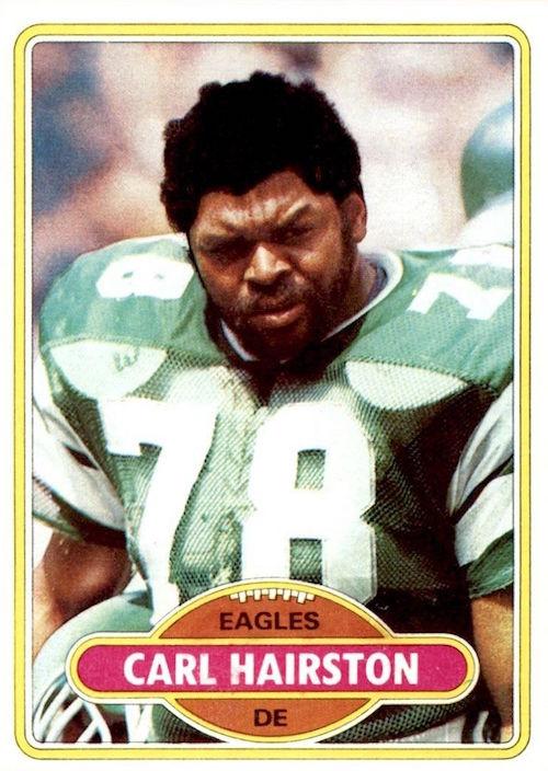 1980 Topps Carl Hairston