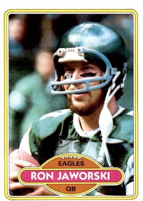1980 Topps Ron Jaworski
