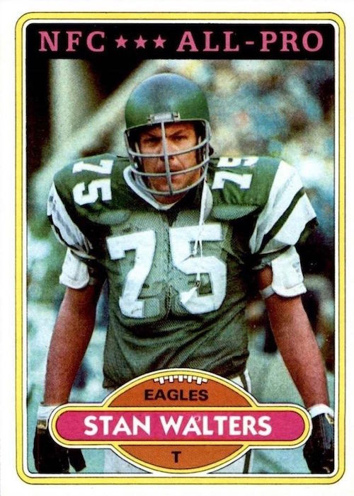 1980 Topps Stan Walters