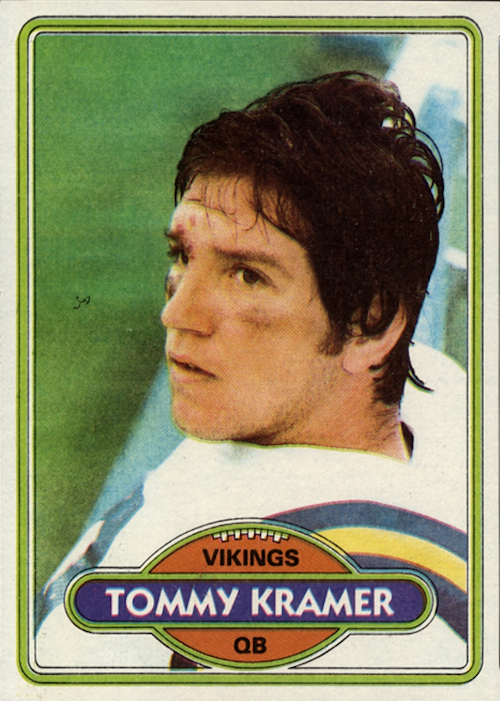 1980 Topps Tommy Kramer