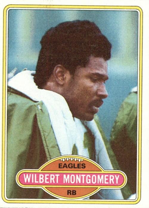 1980 Topps Wilbert Montgomery