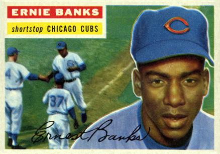 1956 Topps Ernie Banks