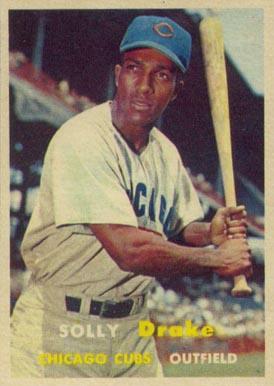 1957 Topps Solly Drake