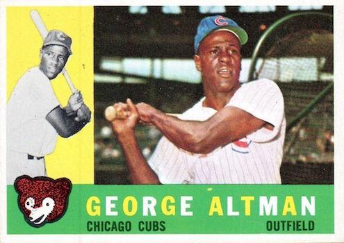 1960 Topps George Altman