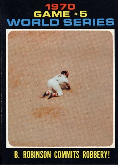 1971 Topps World Series Brooks Robinson