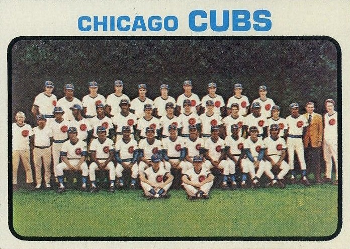 1973 Topps Chicago Cubs Team Card