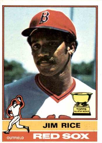 1976 Topps Jim Rice