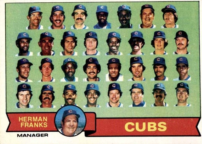 1979 Topps Chicago Cubs Team Card