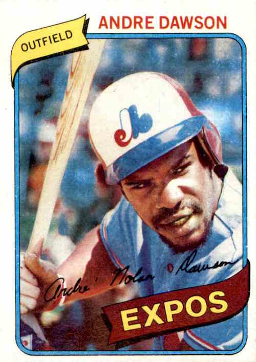 1980 Topps Andre Dawson