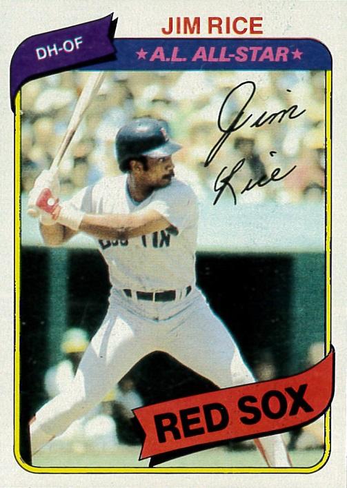 1980 Topps Jim Rice