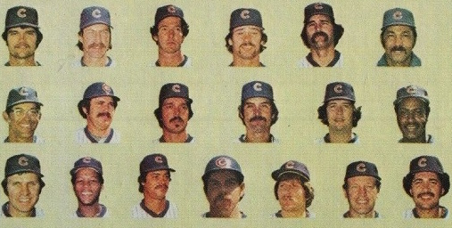 Chicago Cubs Team Cards: 25 Years of Cute Logos, Floating Heads, and Cheesy Mustaches