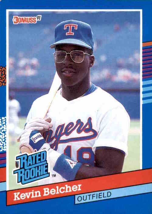 1991 Donruss Rated Rookies Kevin Belcher