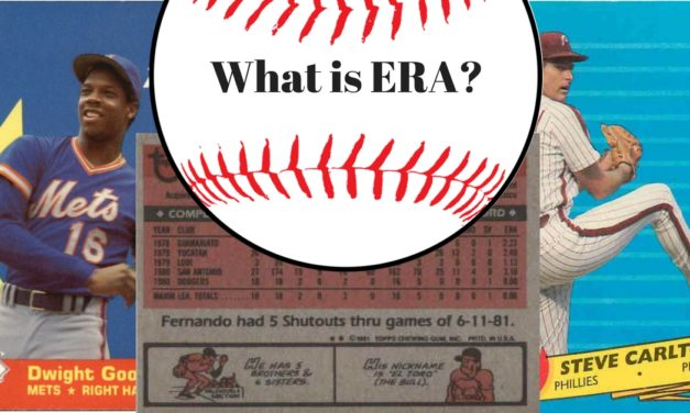 What Is ERA in Baseball?