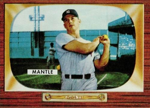 1955 Bowman Mickey Mantle