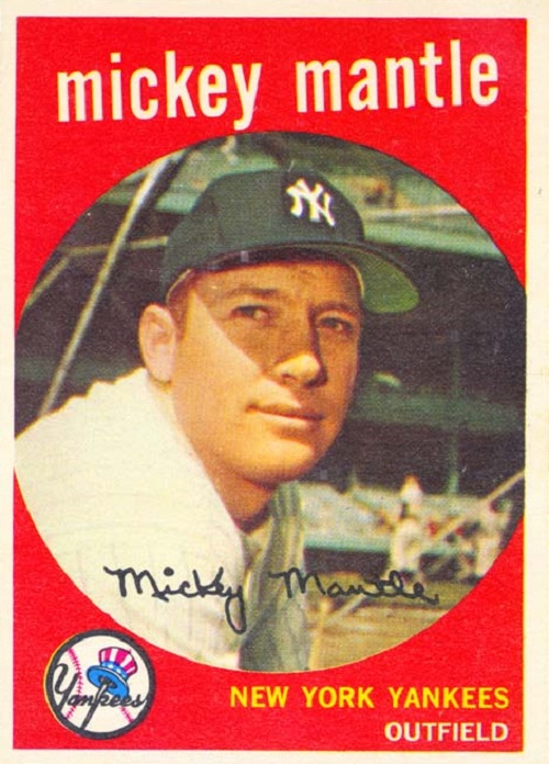 1959 Topps Mickey Mantle
