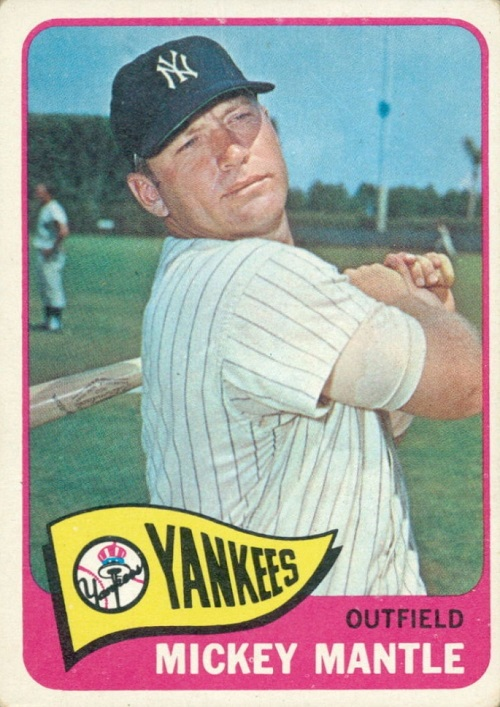 1965 Topps Mickey Mantle