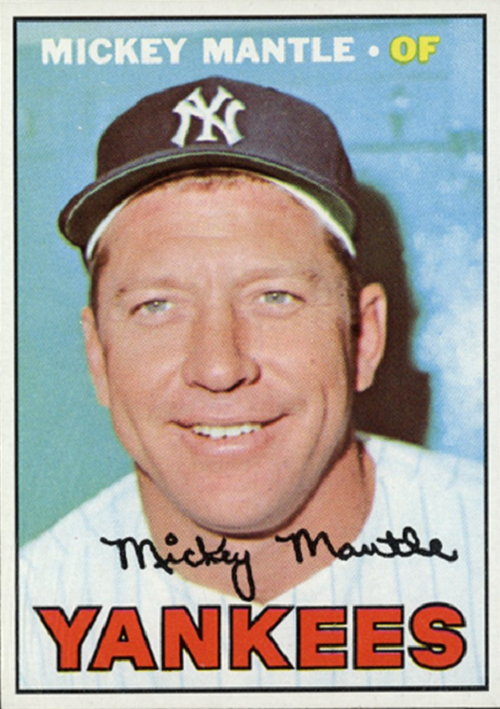 1967 Topps Mickey Mantle