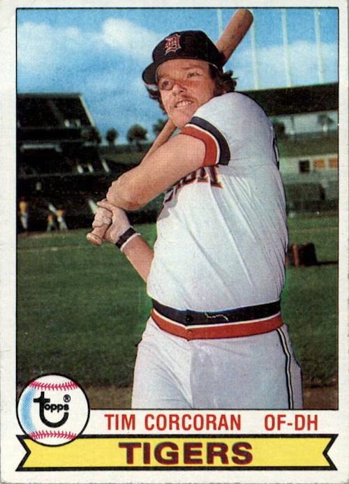 1979 Topps Tim Corcoran