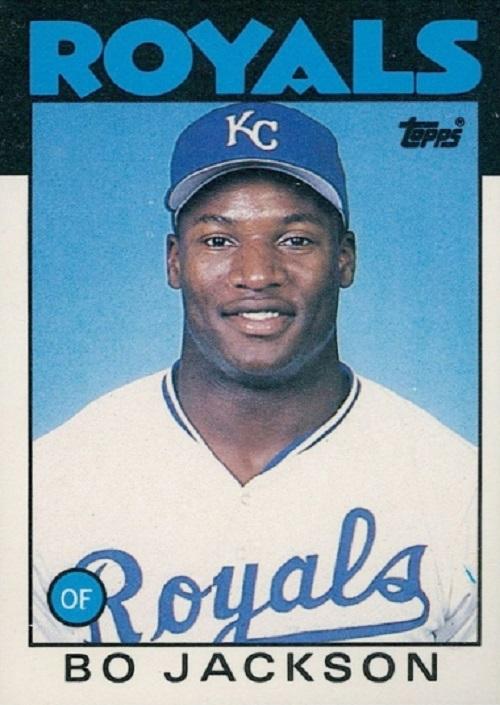 1986 Topps Traded Bo Jackson