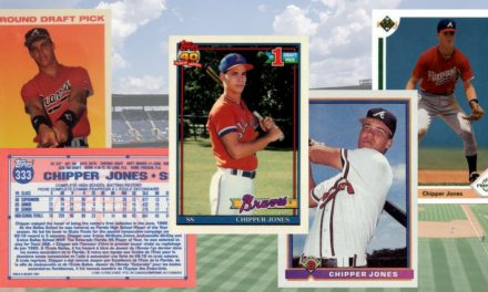 Chipper Jones Rookie Cards Still Scorching After All These Years