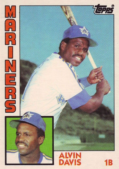 1984 Topps Traded Alvin Davis