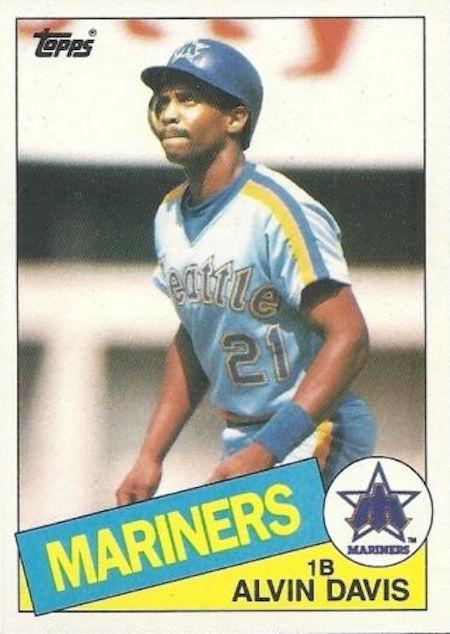 1985 Topps Alvin Davis