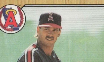 The Hairy Truth About the First Chuck Finley Topps Baseball Cards