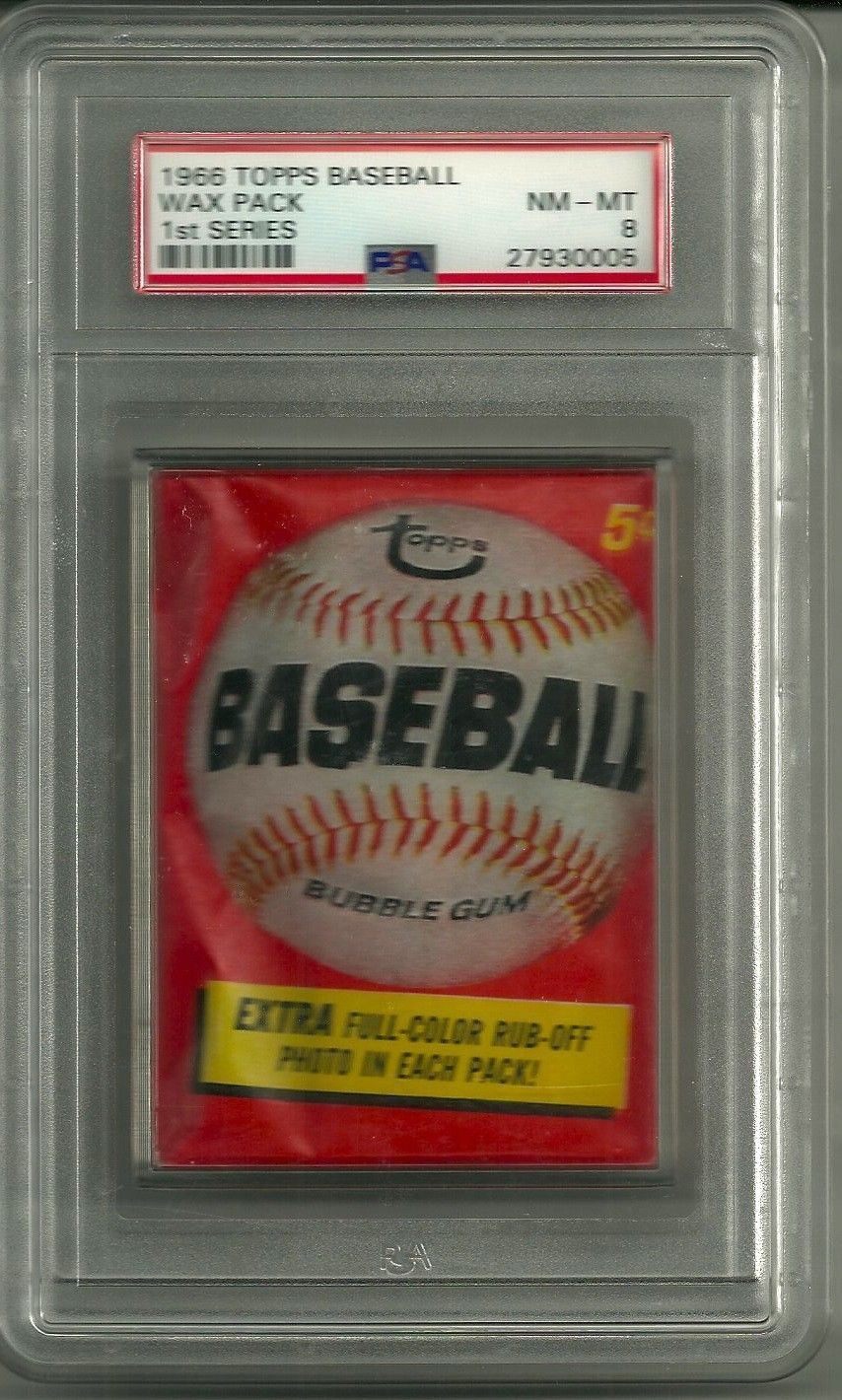 1966 Topps Baseball Wax Pack