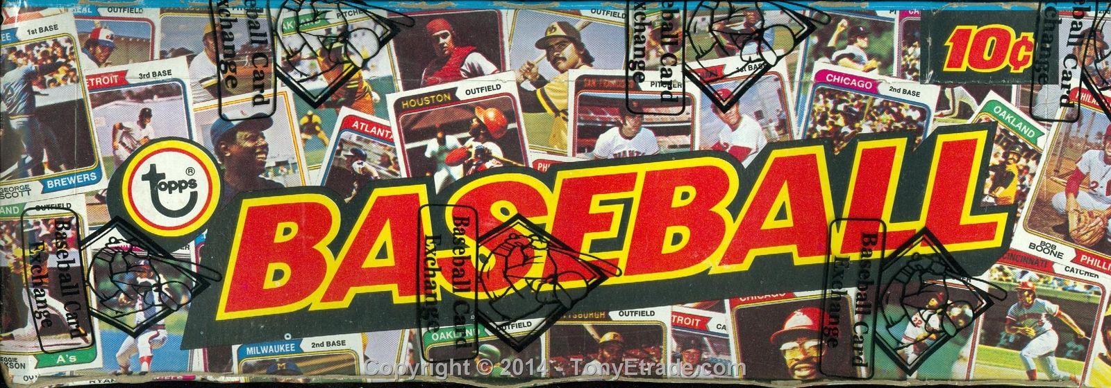 1974 Topps Baseball Card Unopened Wax Box