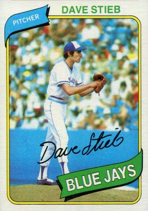 1980 Topps Dave Stieb