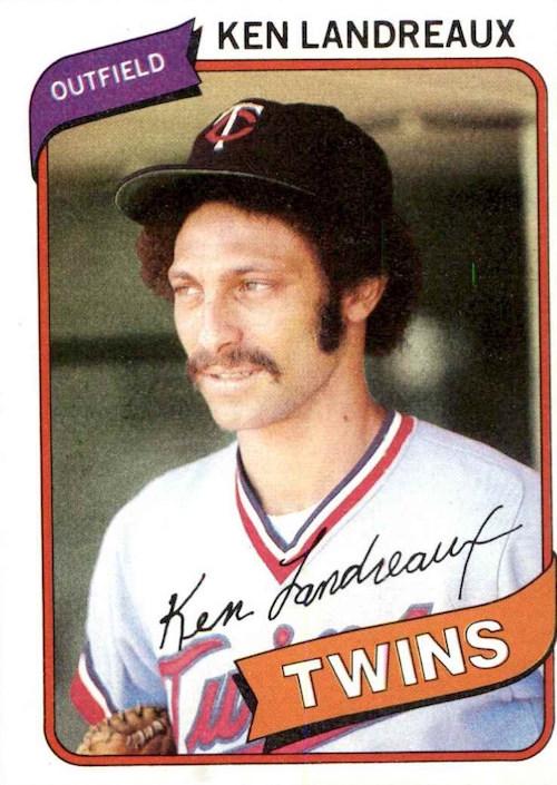 1980 Topps Ken Landreaux