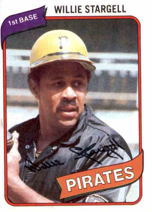 1980 Topps Willie Stargell