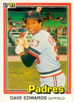 1981 Donruss Dave Edwards
