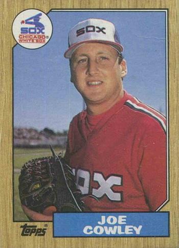 1987 Topps Joe Cowley