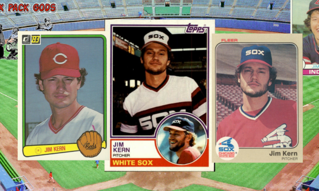 1983 Jim Kern Baseball Cards and Things You Don't Know