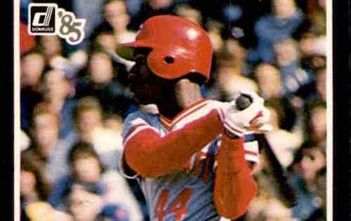 How Eric the Red Conquered All Other 1985 Donruss Baseball Cards
