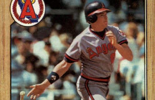 1987 Topps Wally Joyner Rookie Card a Piece of Hobby History