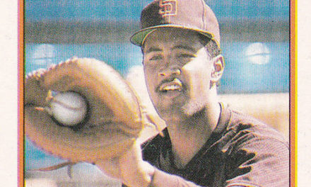 1989 Topps Sandy Alomar Rookie Card Catches Your Eye